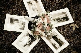 svatební fotky rodičů a prarodičů