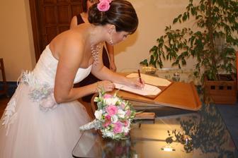 podepisovala jsem se jak prvňačka - ale to asi většina z nás, co?