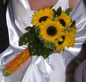 Vysnívany deň mojimi očami:) - svadobna kyticka