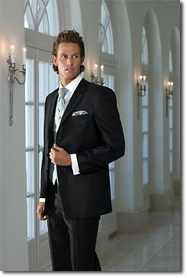 Macicka - Niečo pre drahého. Oblek určite bude v čiernej farbe a biela francúzska viazanka