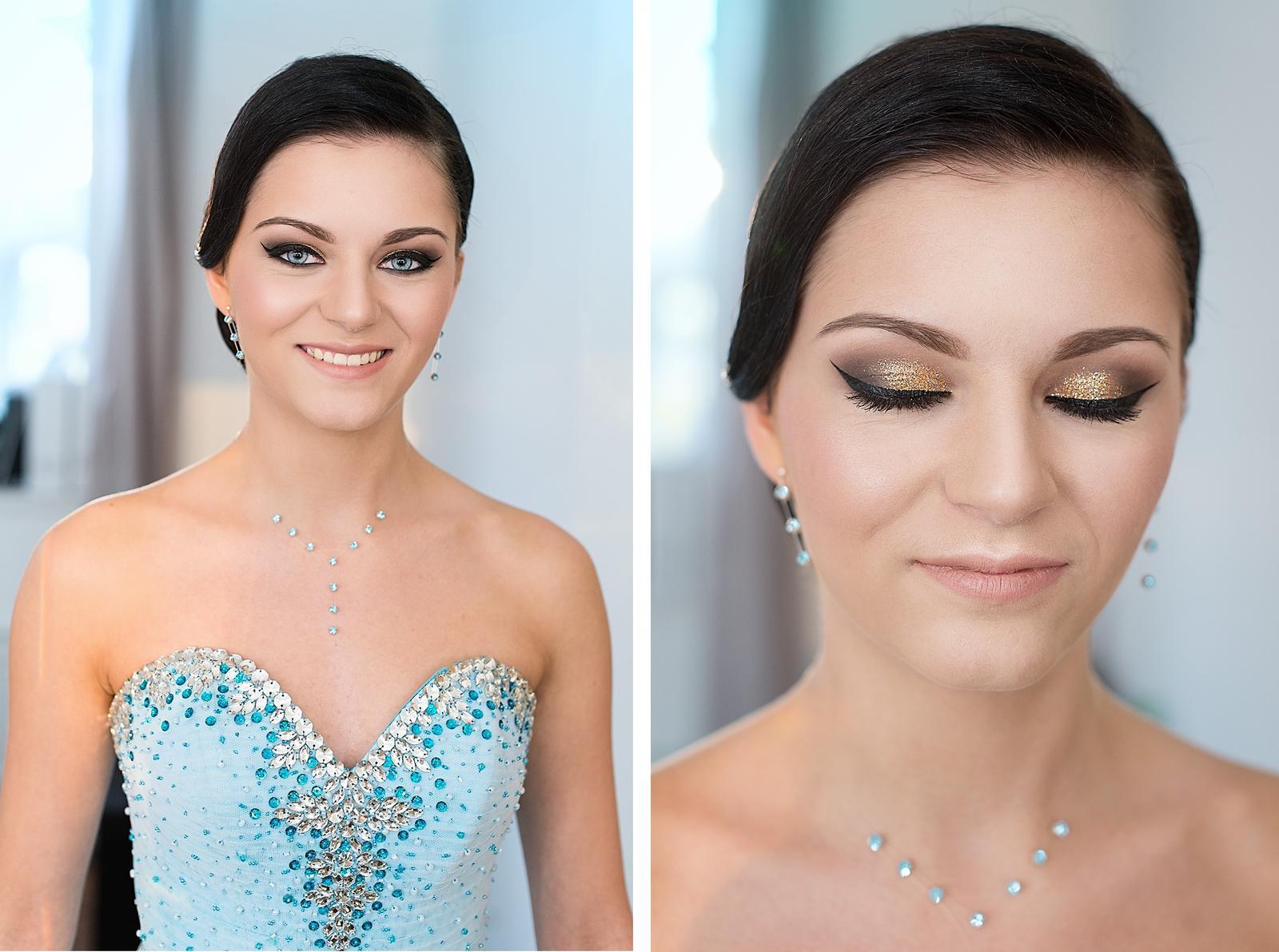 Party makeup + hair - Obrázek č. 5