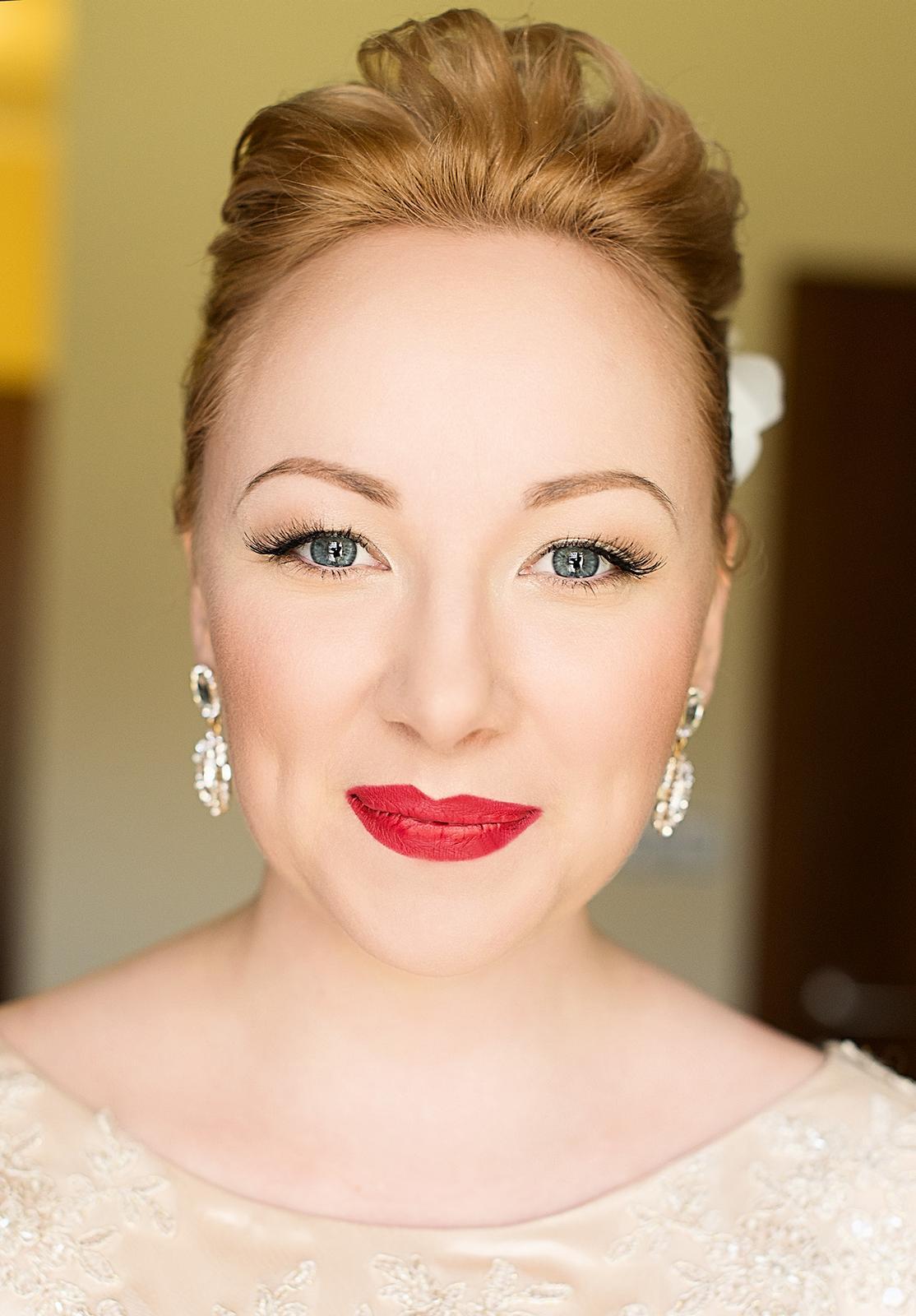 Bridal makeup + hair - Obrázek č. 13
