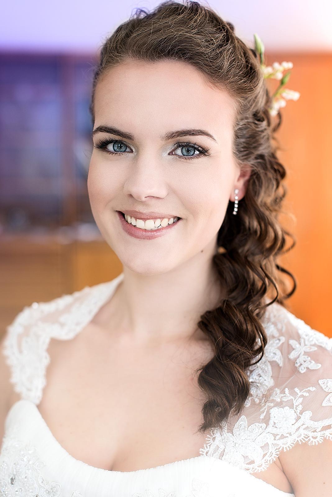 Bridal makeup + hair - Obrázek č. 19