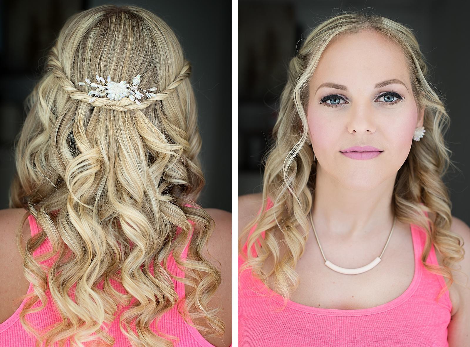 Bridal makeup + hair - Obrázek č. 35