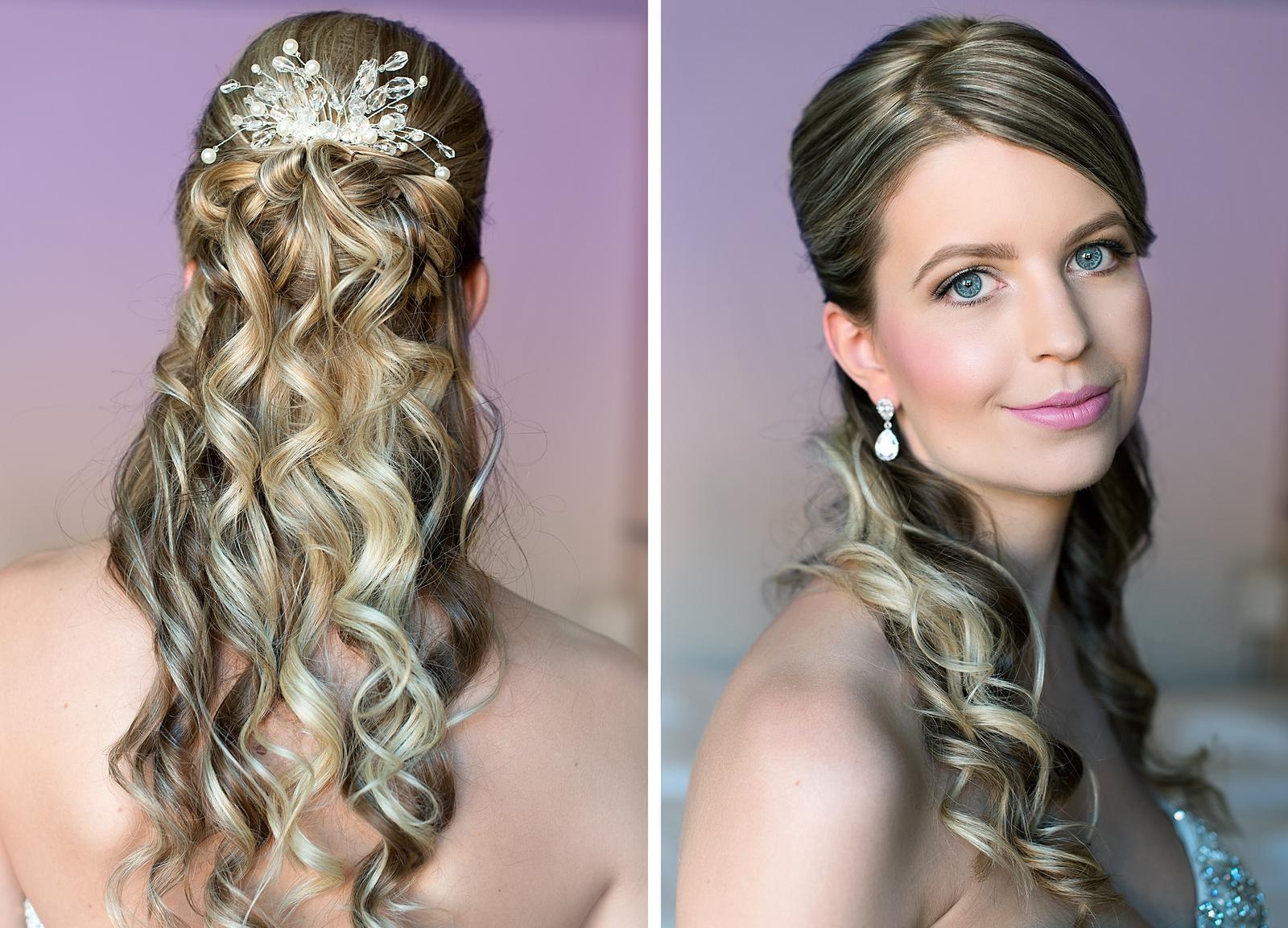 Bridal makeup + hair - Obrázek č. 56