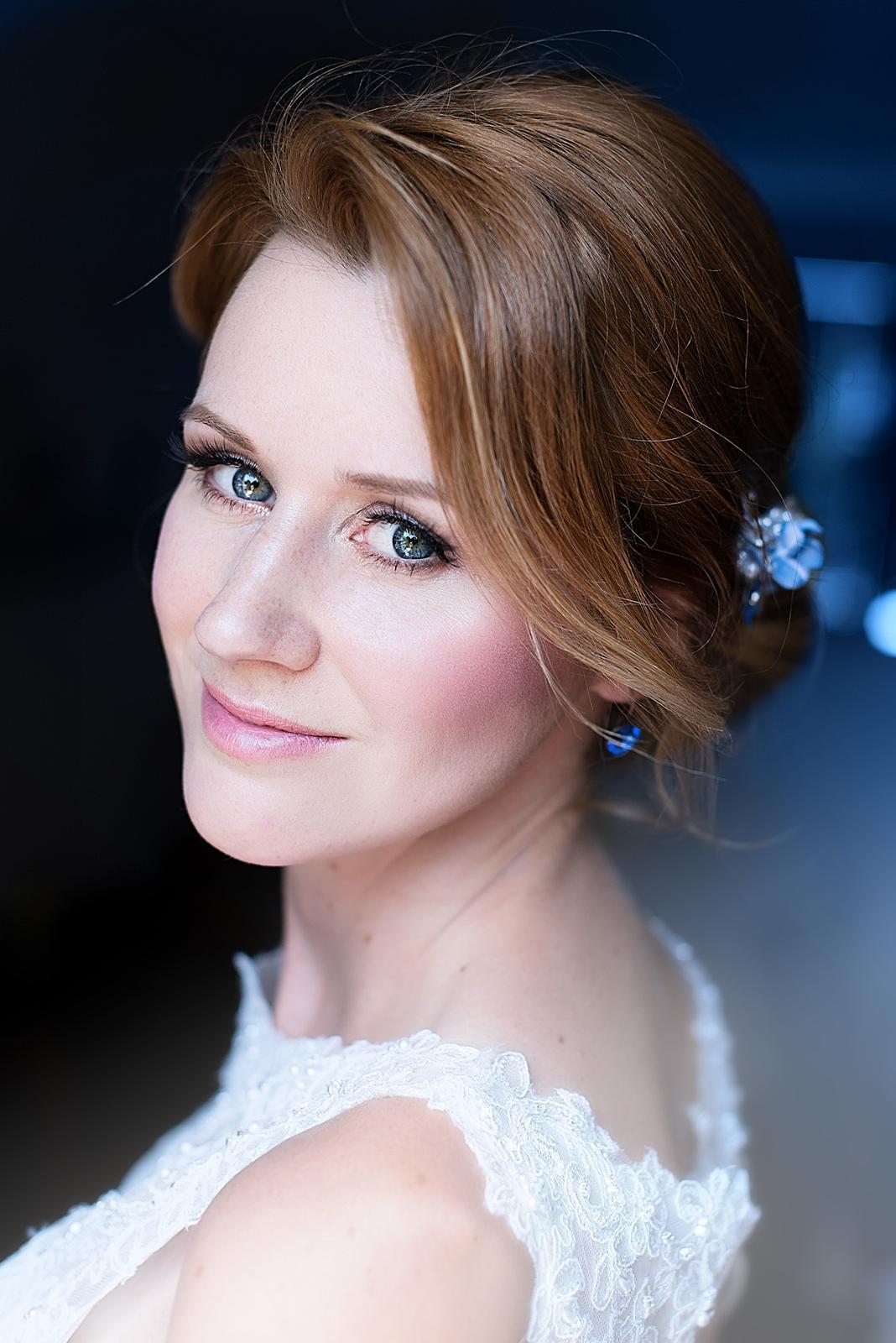 Bridal makeup + hair - Obrázek č. 10