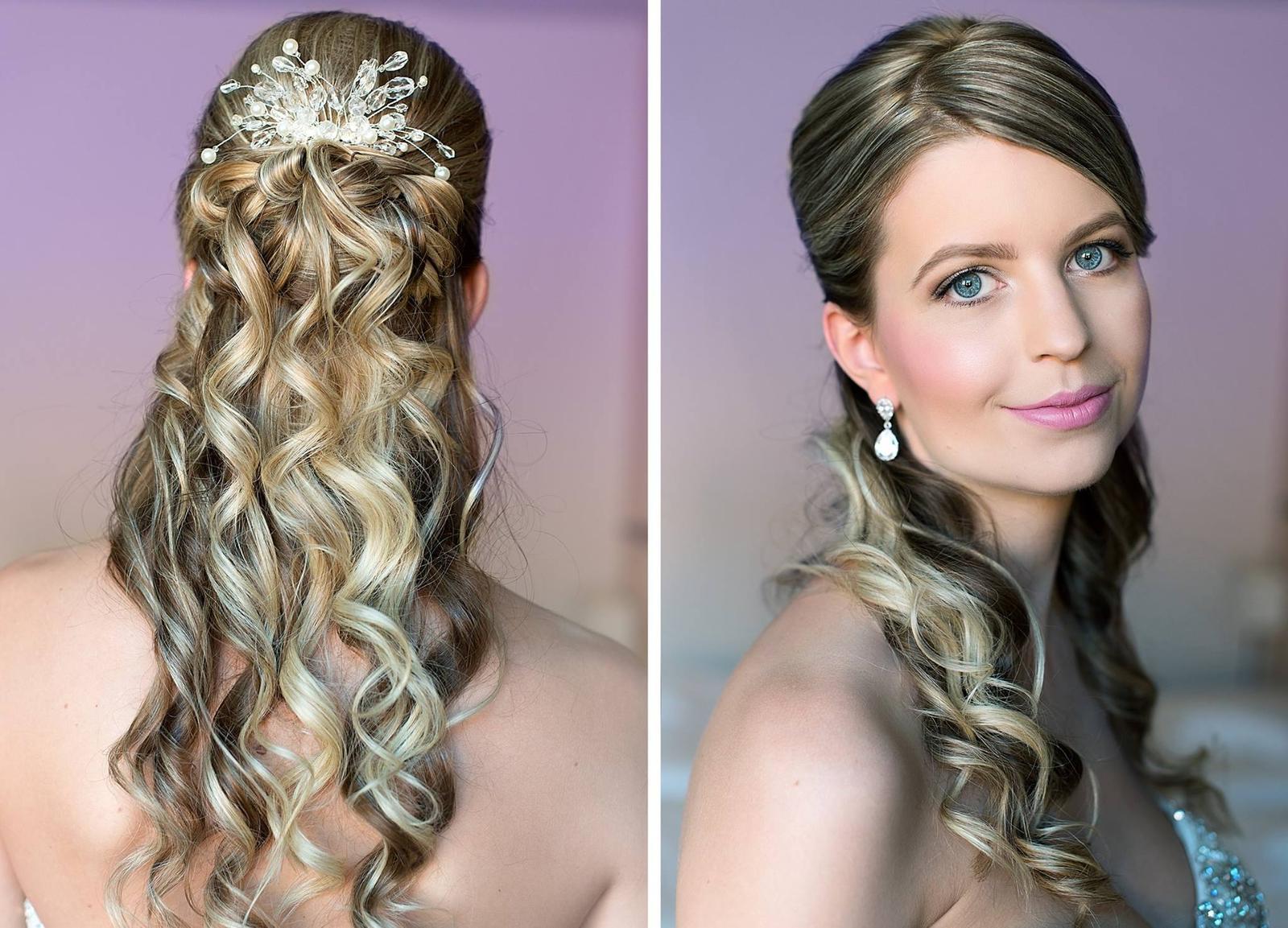 Bridal makeup + hair - Obrázek č. 12