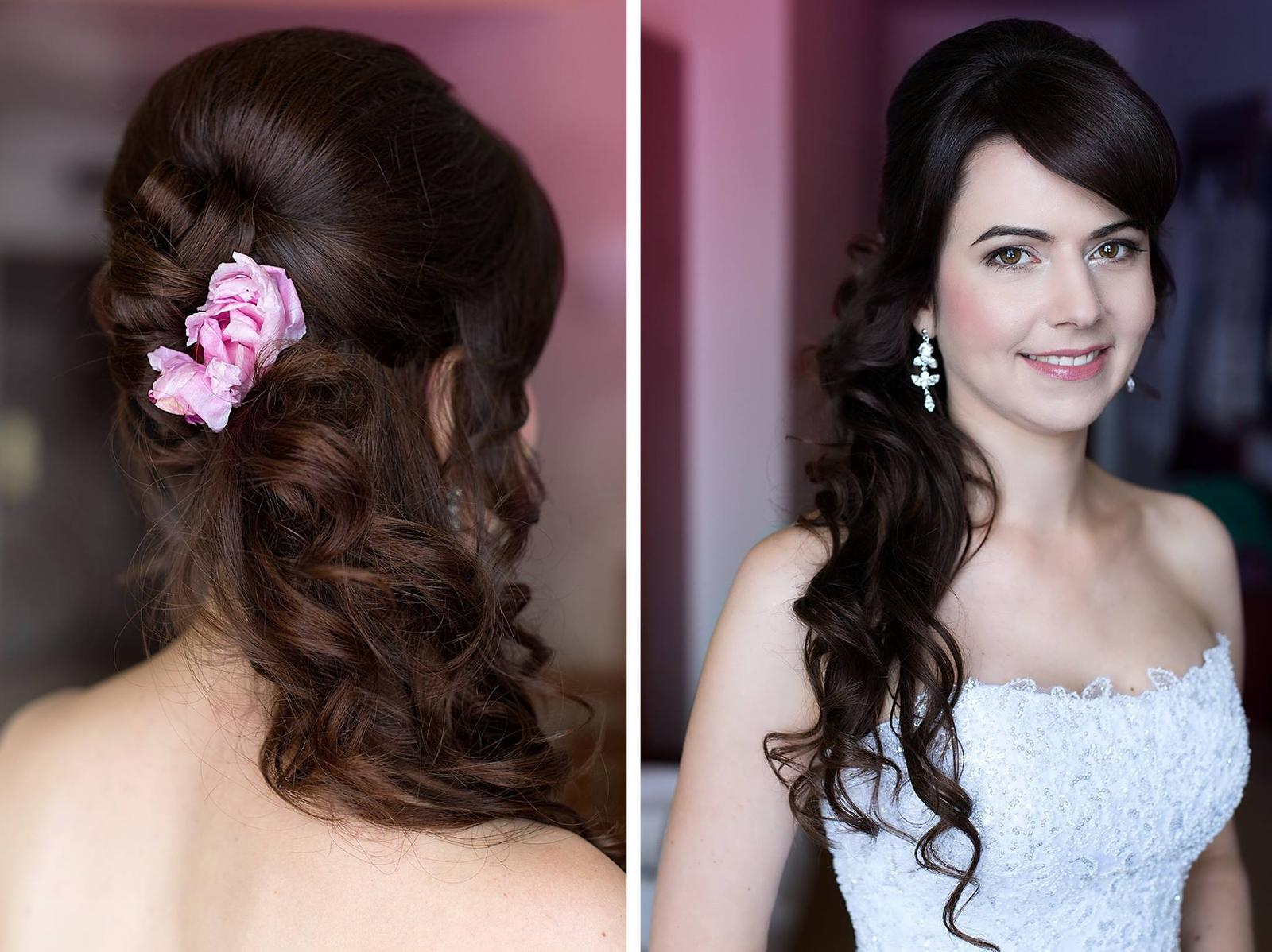 Bridal makeup + hair - Obrázek č. 70