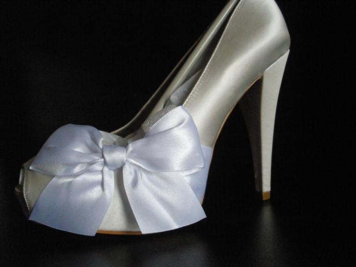 Svadobné topánky Paris Hilton DESTINY  36 - Obrázok č. 2