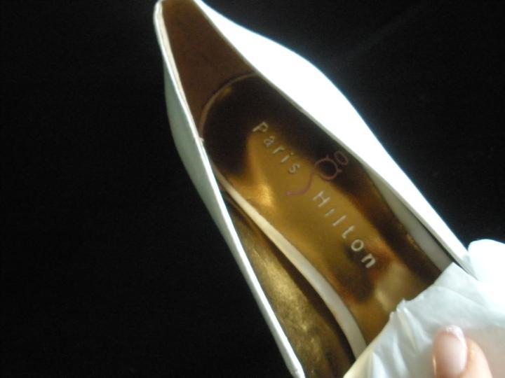 Svadobné topánky Paris Hilton DESTINY  36 - Obrázok č. 4