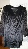 Spoločenské 2-dielne šaty, L