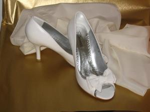 svadobné topánočky