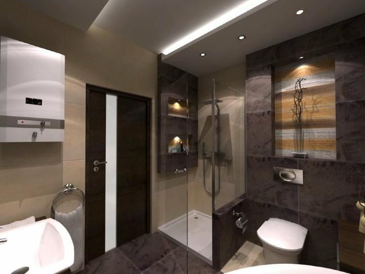 Vizualizácie a realizácie kúpelne - Obrázok č. 11