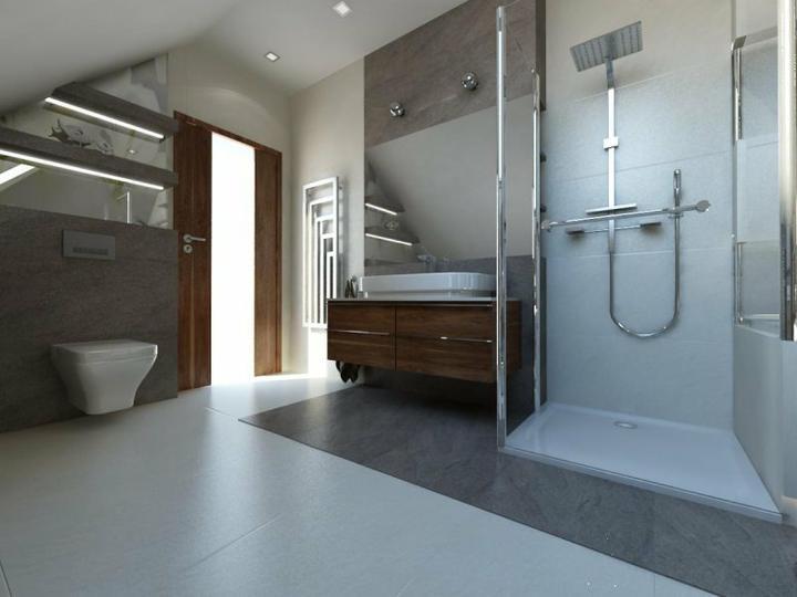 Vizualizácie a realizácie kúpelne - Obrázok č. 32