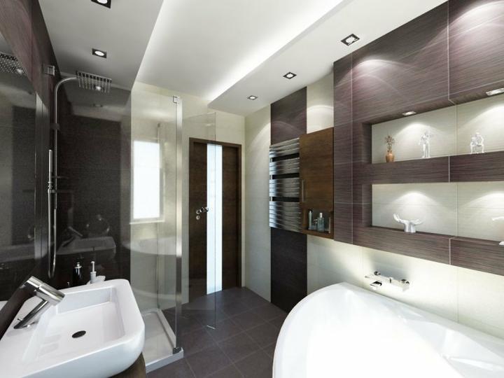 Vizualizácie a realizácie kúpelne - Obrázok č. 40