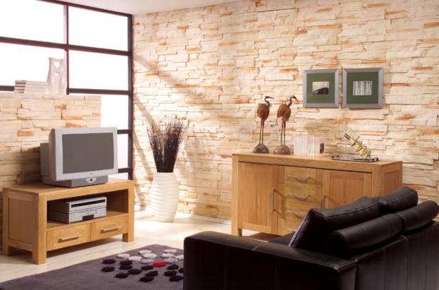 Kameň a tehla v interiéri - Obrázok č. 10