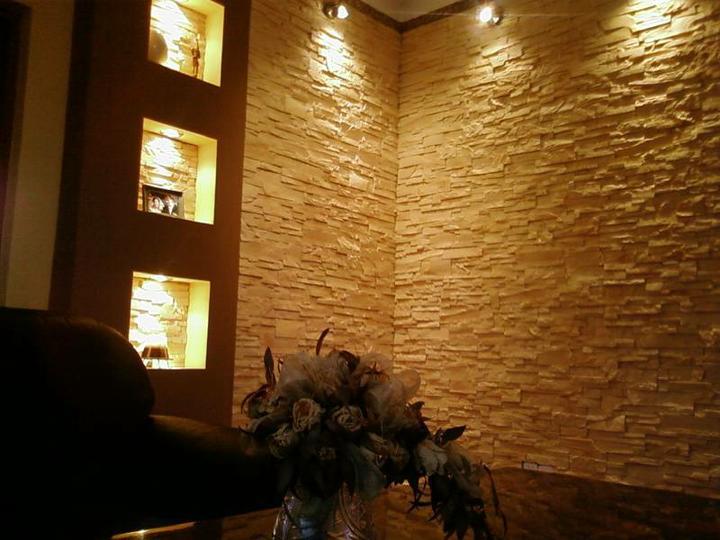 Kameň a tehla v interiéri - Obrázok č. 21