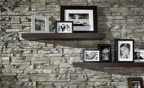 Kameň a tehla v interiéri - Obrázok č. 46