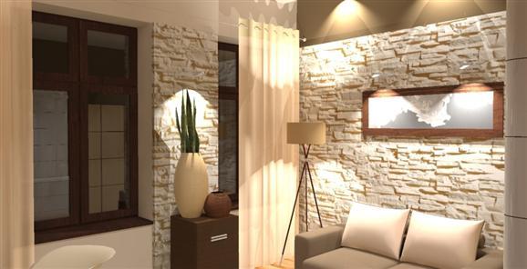 Kameň a tehla v interiéri - Obrázok č. 65