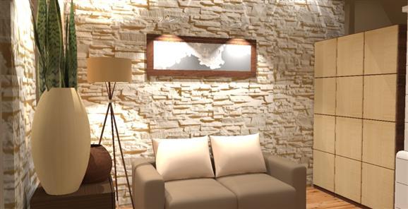 Kameň a tehla v interiéri - Obrázok č. 66