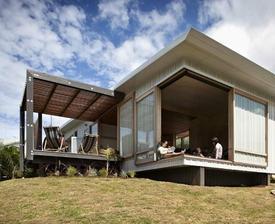 dom na Novom Zélande