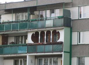 balkón pre Júliu :) aby ho Rómeo rozpoznal