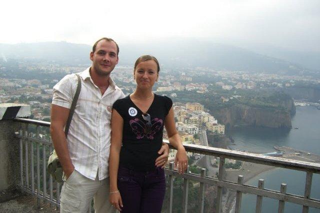 Mirka Fedorekova{{_AND_}}Vladimir Smatana - výlet do Sorrenta
