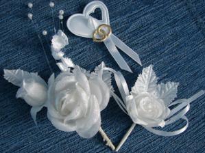 pierka pre otcov, svedka a svadobčanov