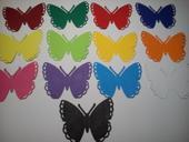 jmenovky motýlek -různé barvy,