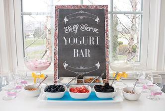 Jogurt bar a ovoce