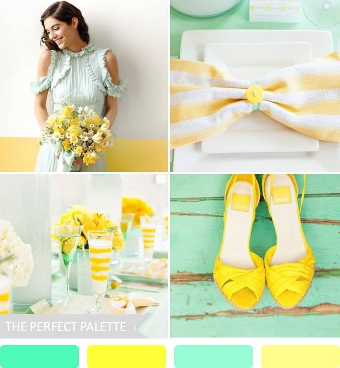 Mint wedding inspiration - Obrázek č. 7