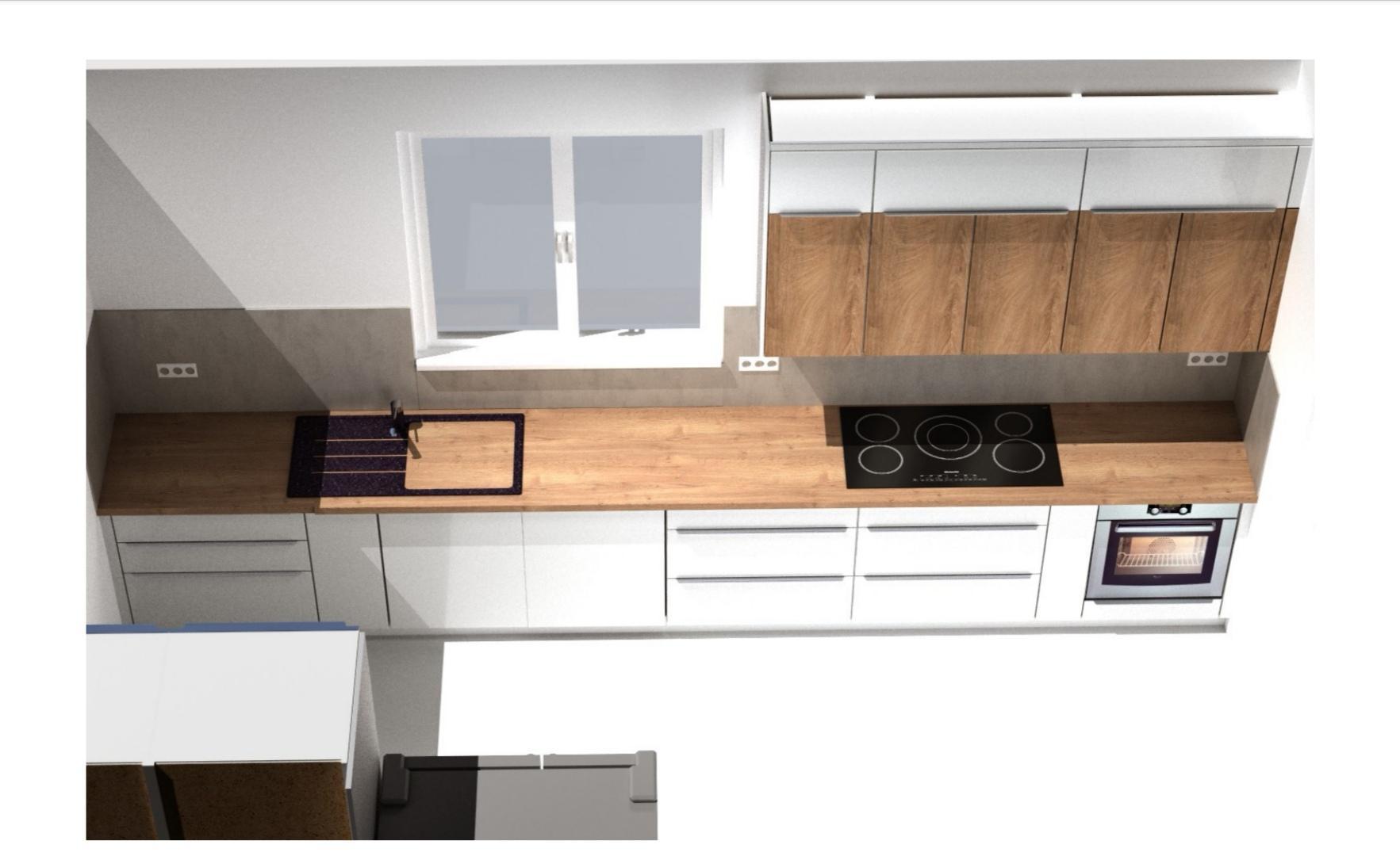 Kuchyně - rekonstrukce
