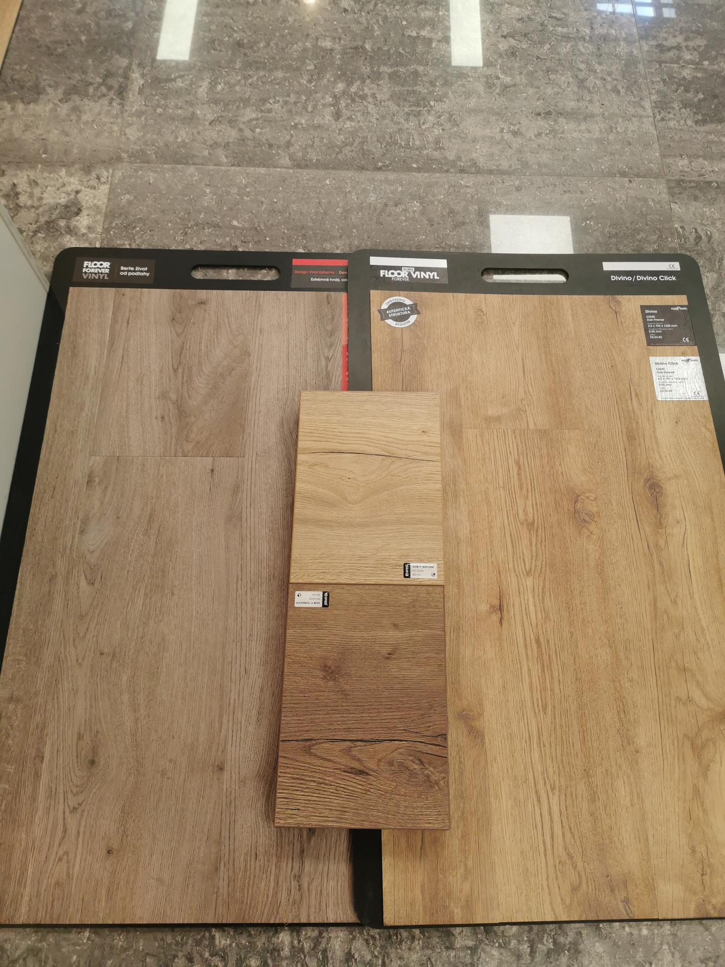 Kuchyně - rekonstrukce - Dekor na linku vs podlaha