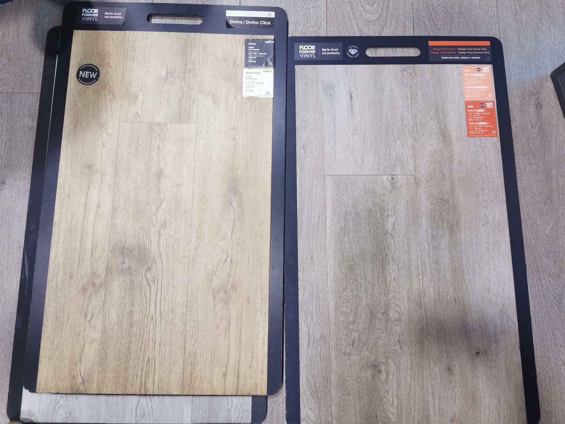 Kuchyně - rekonstrukce - Dilema podlaha