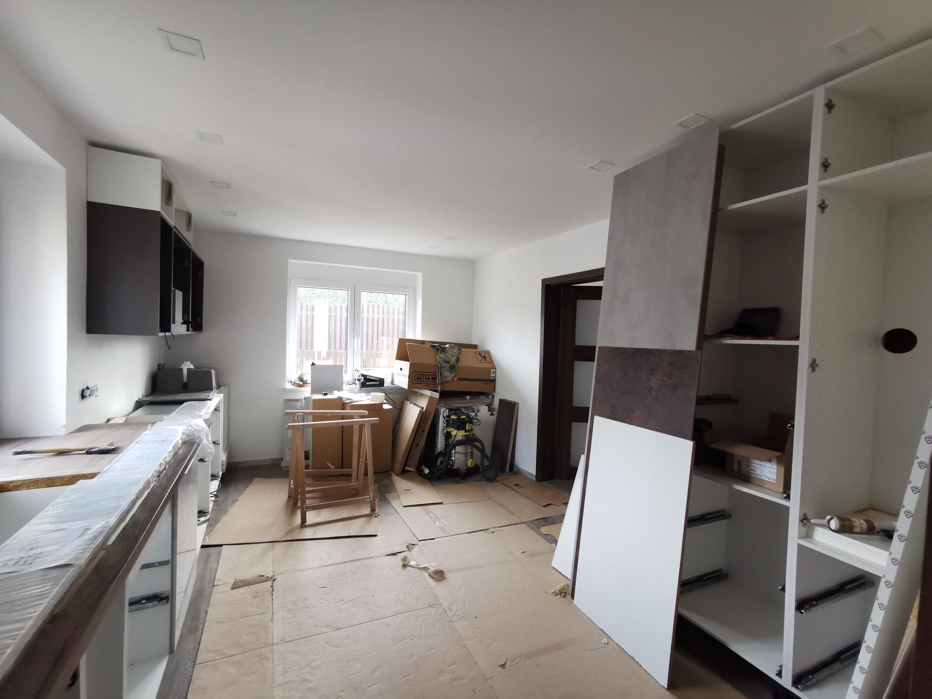 Kuchyně - rekonstrukce - Obrázek č. 28