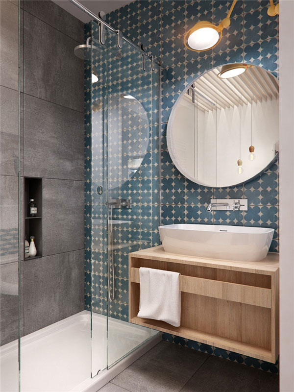Inspirace pro rekonstrukci bytu - Otázka zní - vaničku, nebo ne?:-))