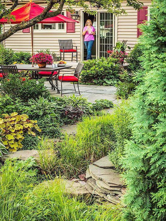 Zahrada bez klasického trávníku - Obrázek č. 3