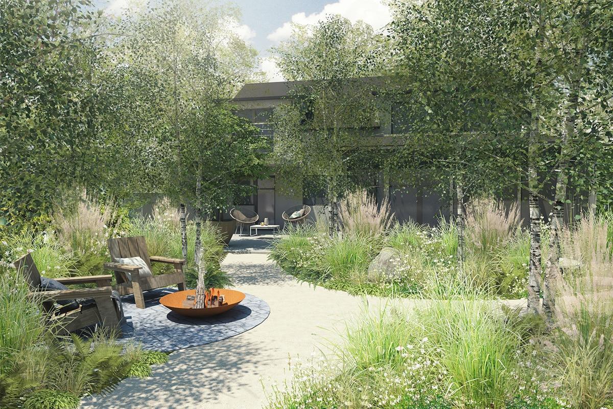 Zahrada bez klasického trávníku - Obrázek č. 19