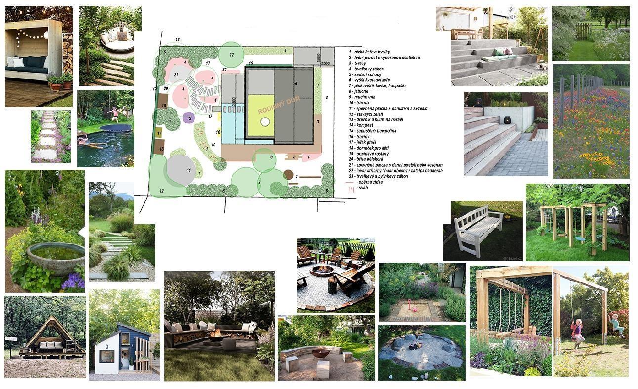 Dům se zahradou propojený - Obrázek č. 15