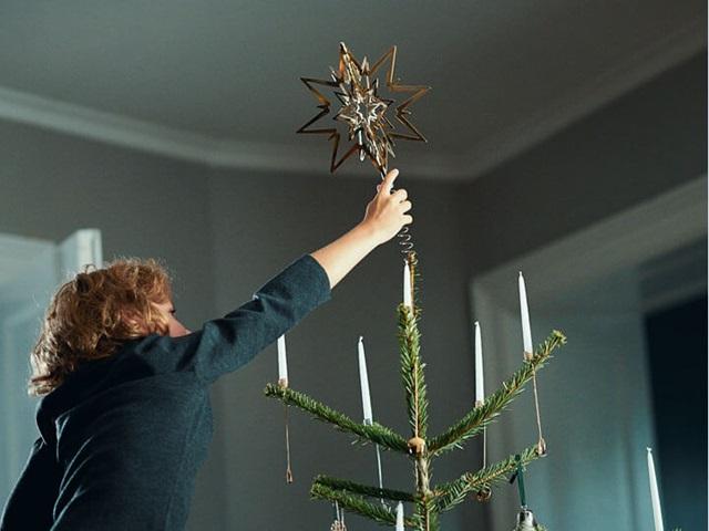 Vánoce - Loňský nákup - doufám, že jednou předám dětem :) Hvězda z palladia.