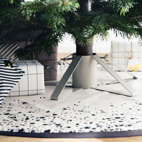 Vánoce - Taky z loňska - béžovošedý podstavec.