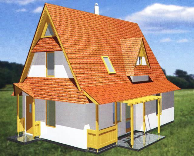 Malometrážne rodinné domy - Archa projekt