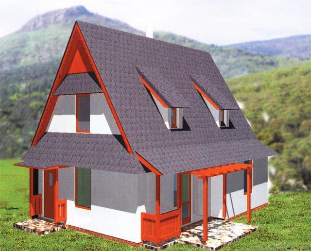 Malometrážne rodinné domy - Nano