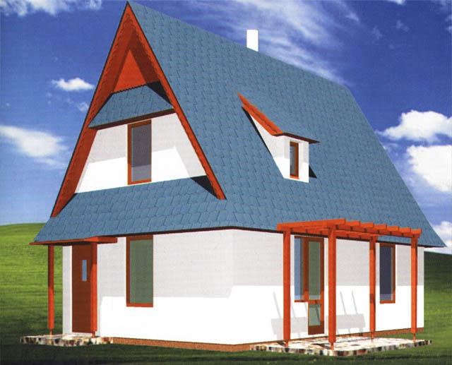 Malometrážne rodinné domy - Pico