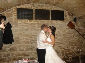 První tanec manželů...