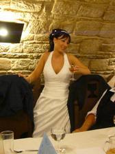 Popíjící nevěsta :-)