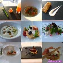 degustační menu...