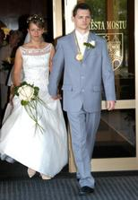 novomanželé Markovi