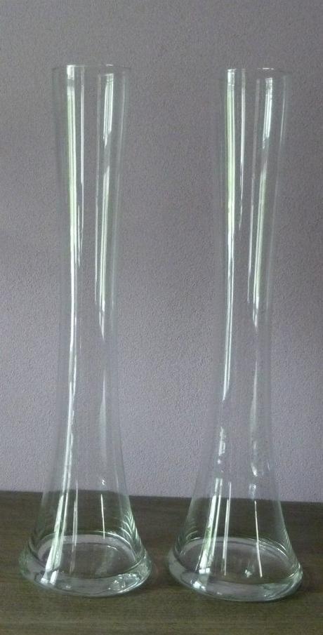 Svadobné vázy vysoké na prenájom - Obrázok č. 1