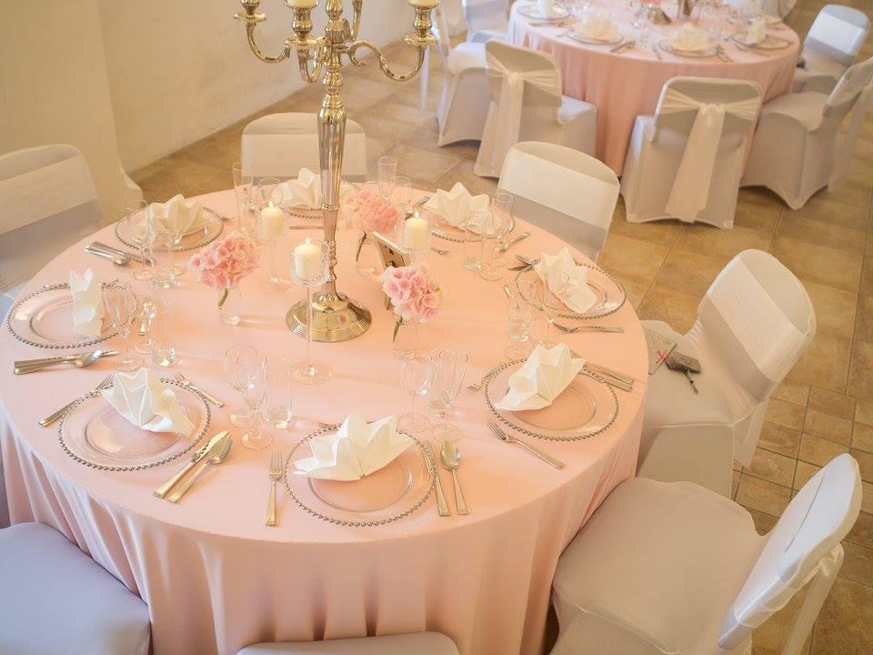 Luxusné klubové taniere na prenájom - Obrázok č. 2